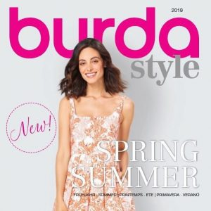 Titel des Burda Style Katalog 2019